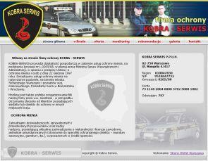 Ochrona mienia  Kobra Serwis kobra-serwis.pl