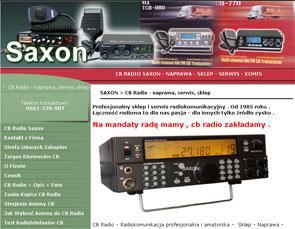 Naprawa cb-radia Saxon